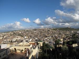 Panoramica della medina (città vecchia) di Fes