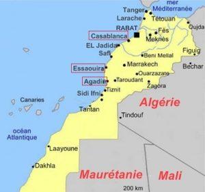 zone surf Marocco